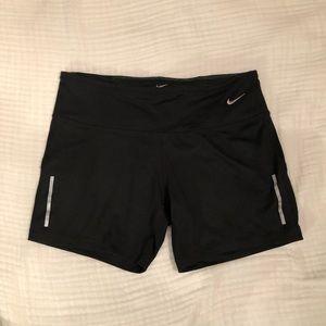 Nike Dri-Fit Running Shorts in Black